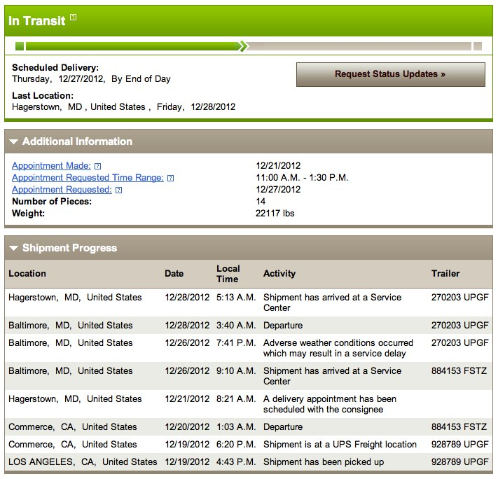 Ups tracking number format, example, and everything.